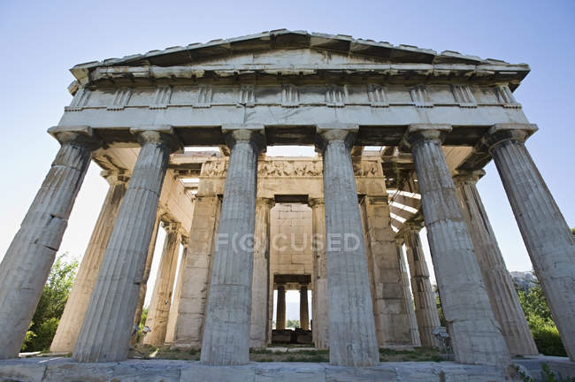 Tempel des Hephaistos in Athen — Stockfoto