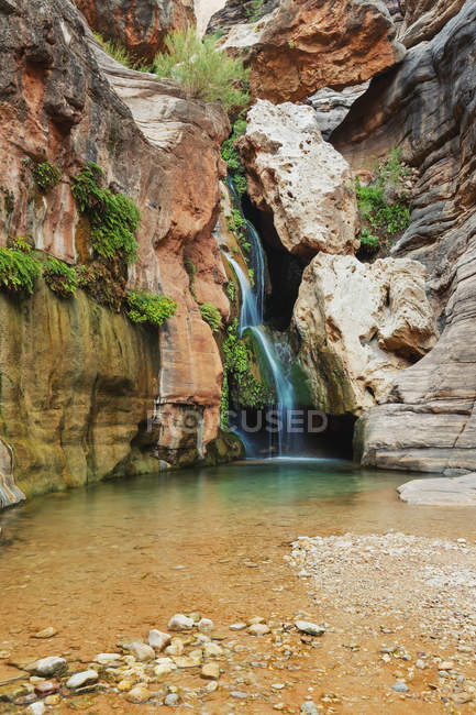 Elves chasm waterfall — Stock Photo