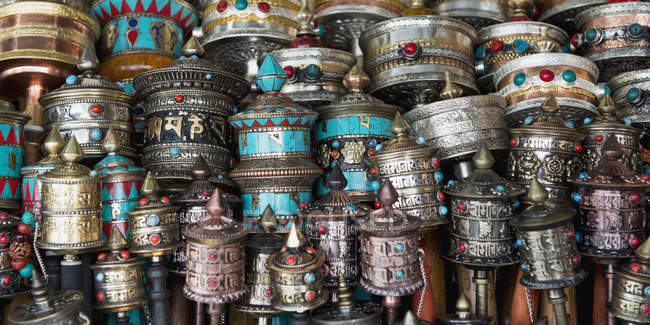 Objets chinois traditionnels ; Lhasa — Photo de stock