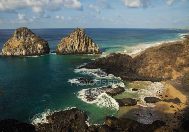 Blick auf die Baia Dos Porcos — Stockfoto