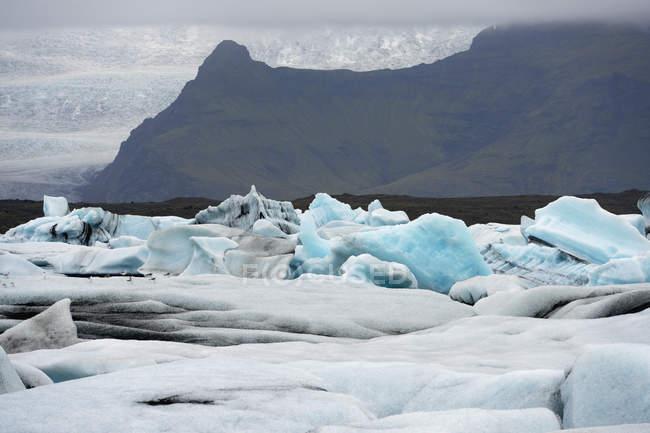 Glacial Lagoon; Jokulsarlon — Stock Photo