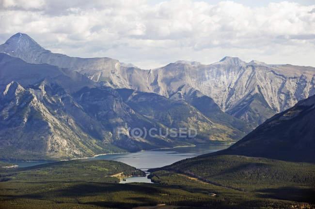Montagnes Rocheuses canadiennes — Photo de stock