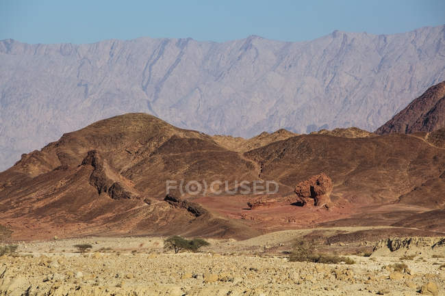 Mountains and rock formation — Stock Photo