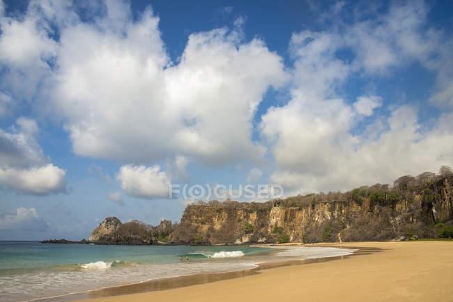 Vista da Praia Sancho — Fotografia de Stock