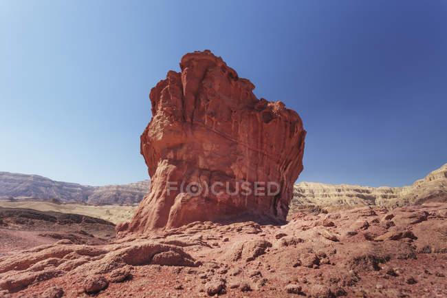 Felsformation und blauer Himmel — Stockfoto