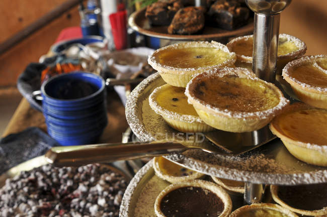 Party Pastries At A Business Conference Reception, Girdwood, Southcentral Alaska — Stock Photo