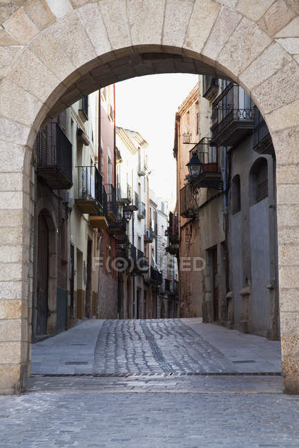 Montblanc;Tarragona catalonia spain — стоковое фото