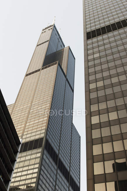 Skyscrapers and office buildings — Stock Photo