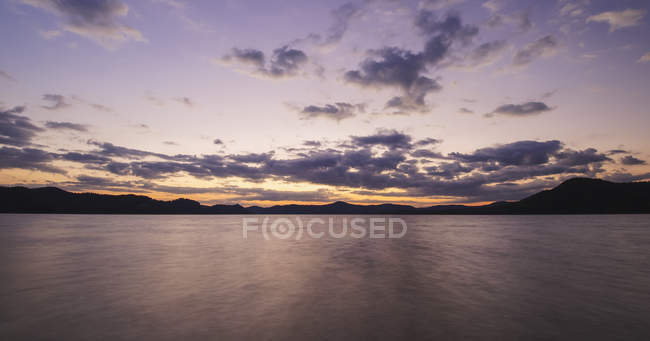 Cave Run Lake at sunset — Stock Photo