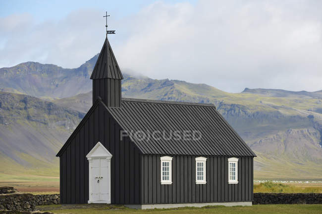 Iglesia Budir; Stadarsveit - foto de stock