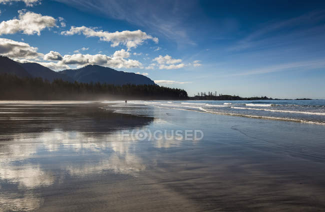 Beach At Rugged Point Marine Park — Stock Photo