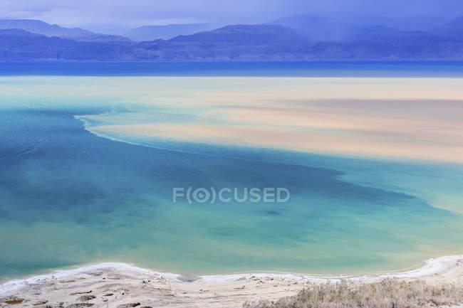 Vista del Mar morto — Foto stock