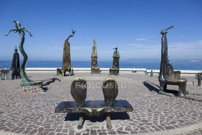 Rotunda do mar no México — Fotografia de Stock
