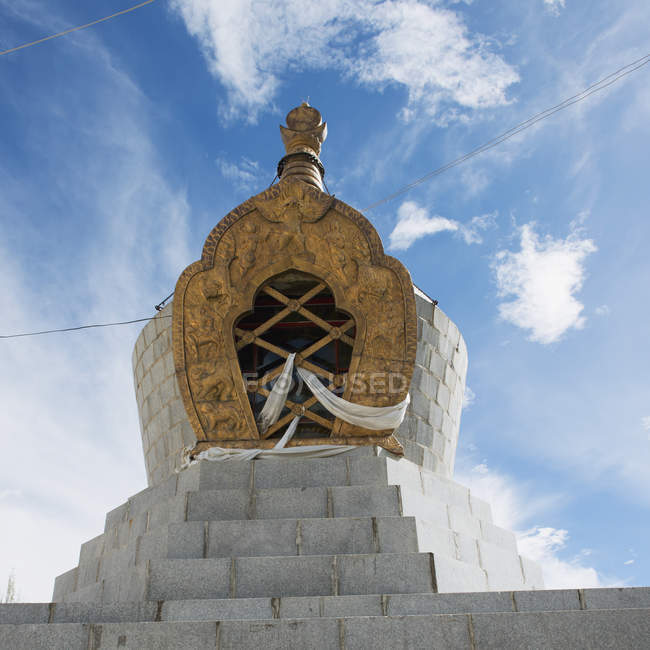 Stone structure at the sera monastery — Stock Photo