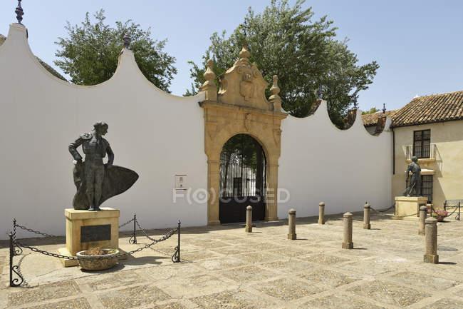 Plaza de toros — стокове фото