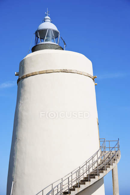 Lighthouse in costa del sol — Fotografia de Stock
