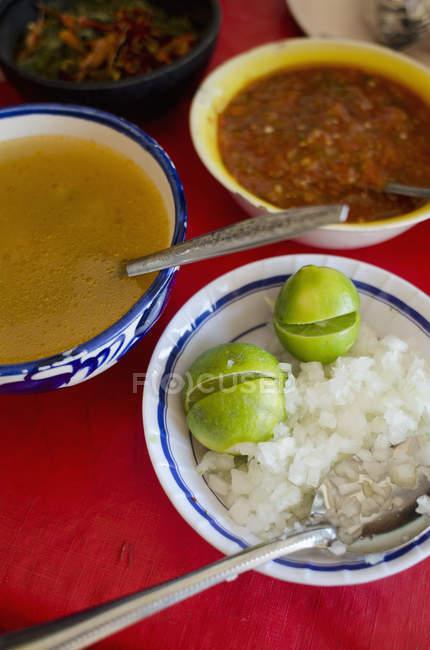 Piatto messicano chiamato biria — Foto stock