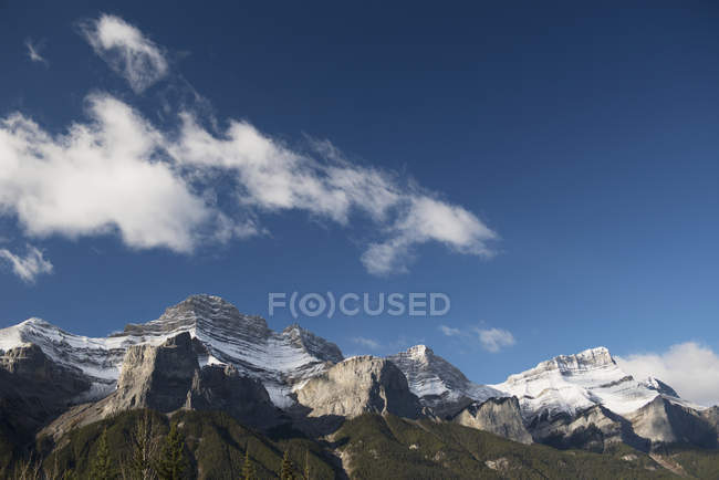 Canadian rocky mountains — Stock Photo