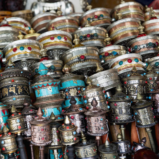 Artículos chinos tradicionales; Lhasa - foto de stock