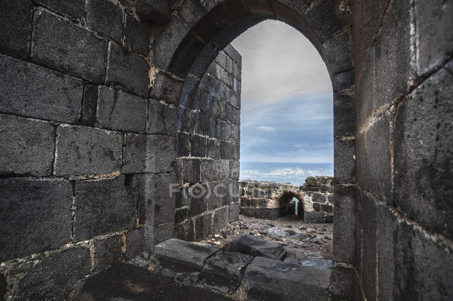 Belvoir fortress kokhav ha yarden — Stock Photo