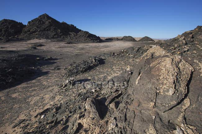 Graphite rocks at dias point — Stock Photo