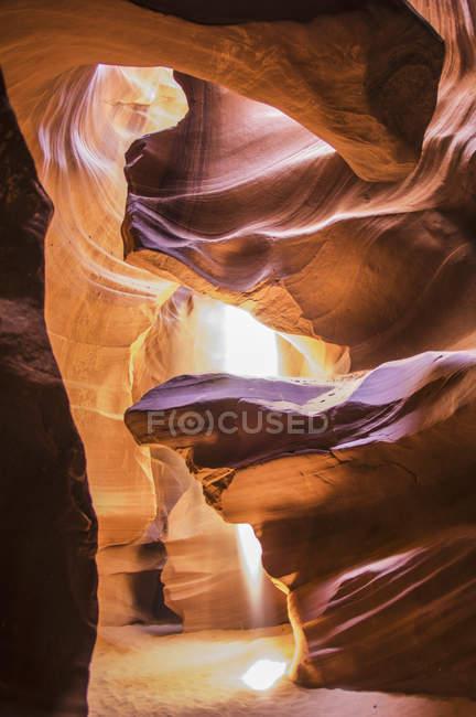 Сцена в каньоне Антилопы — стоковое фото