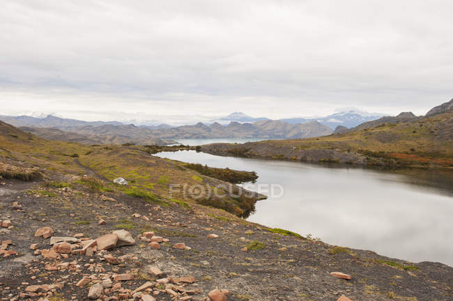 Kleiner See im Nationalpark Torres del Paine — Stockfoto