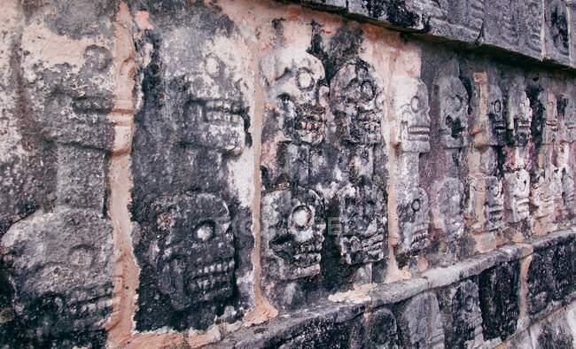 Платформа черепа в Мексиці — стокове фото