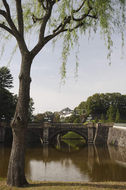 Palacio imperial en Tokio - foto de stock