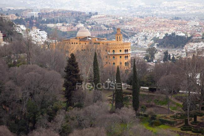 Vista desde la Alhambra - foto de stock
