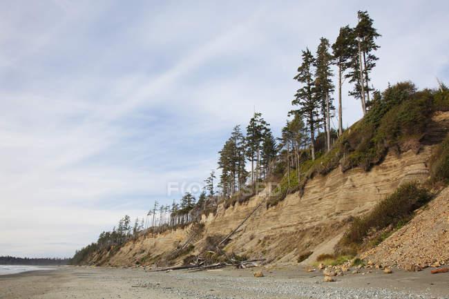 Роз'їдені пісок скелі — стокове фото