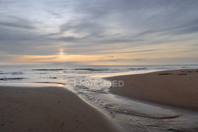 Atlantic Ocean And Beach At Cape Turner — Stock Photo