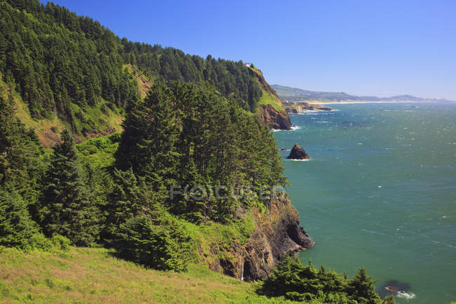 Cape Foulweather And Cape Lookout — Stock Photo