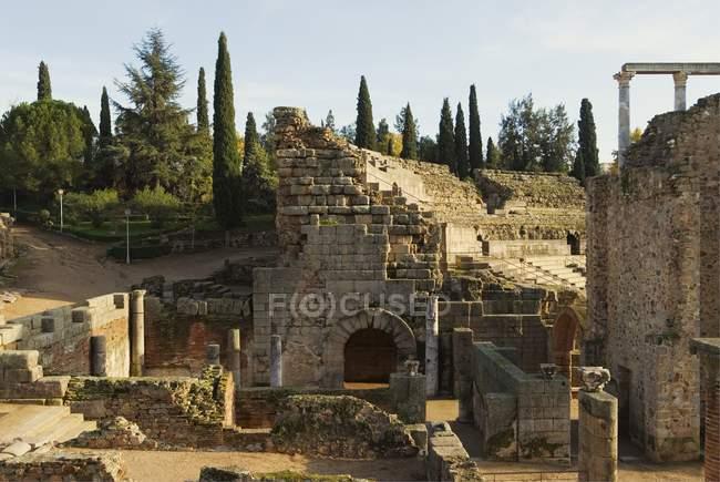 Römisches Theater in Merida — Stockfoto