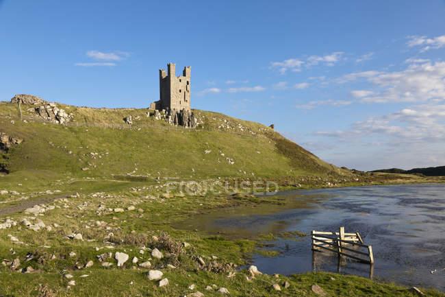Dunstanburgh Castle, England — Stock Photo