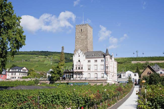 Boosenburg Castle With Tower — Stock Photo