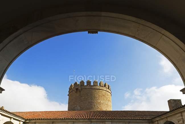 Castle At Zafra, Spain — Stock Photo