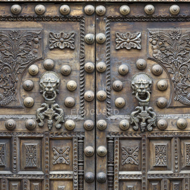 Two Ornate Doors — Stock Photo