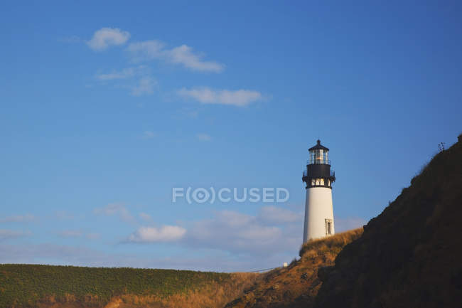 Yaquina Head Lighthouse; Newport, Oregon — Stock Photo