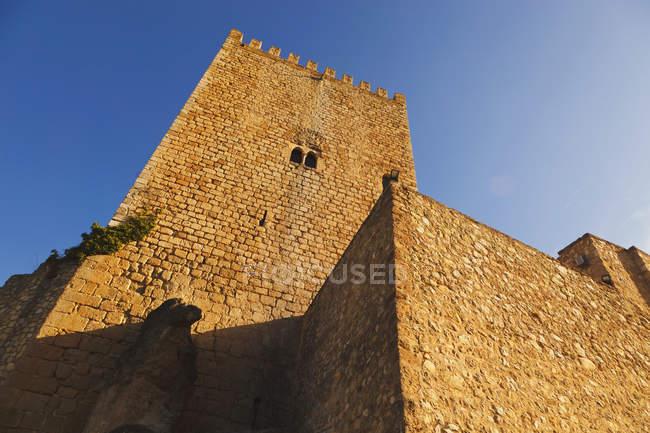The Castle Known As Castillo De La Yedra — Stock Photo