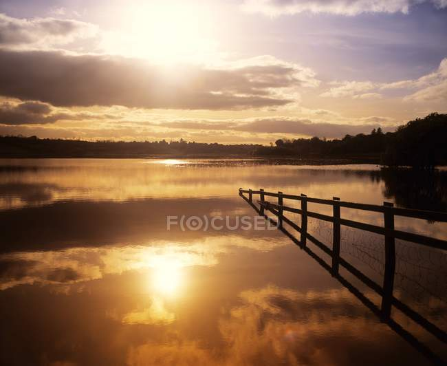 Lac Près de Drumshanbo — Photo de stock