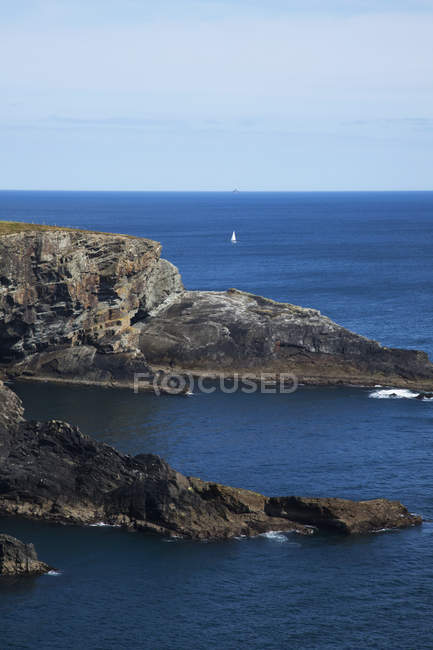 Rock Formations Along Coast — Stock Photo