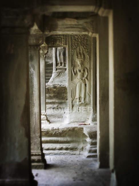 Tempio di angkor wat — Foto stock