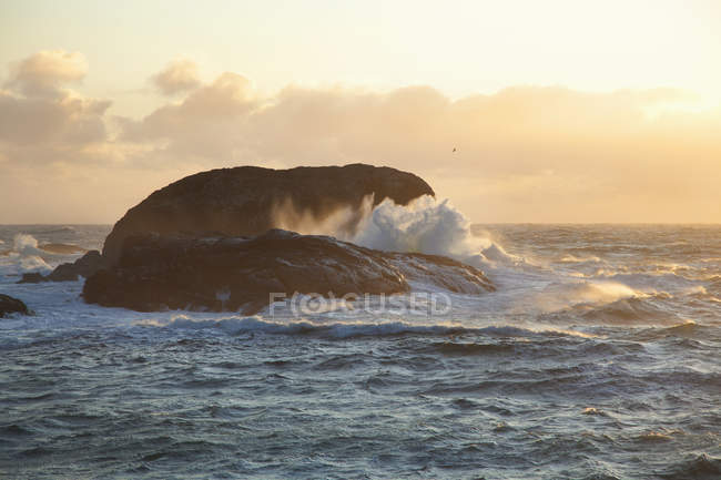 Waves At South Beach — Stock Photo