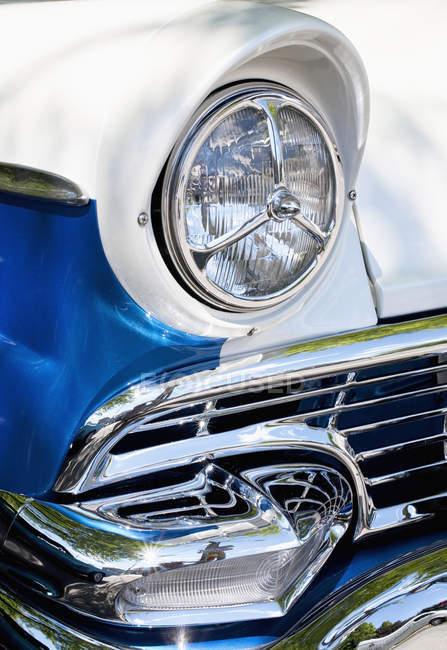 Detalhes em carros clássicos — Fotografia de Stock