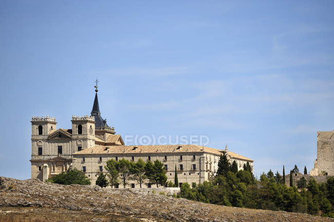 Monastery Of Ucles, Spain — Stock Photo