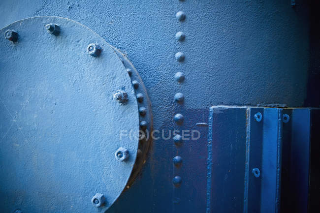 A Old Piece Of Metal Machinery At Gas Works Park; Seattle, Washi — Stock Photo