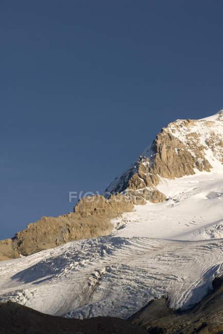 Geleiras na montagem Athabasca — Fotografia de Stock