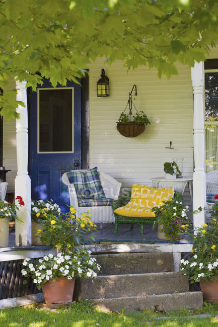 Front Porch Of House — Stock Photo
