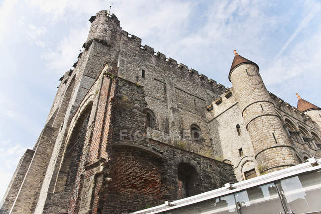 Gravensteen The Castle Of The Counts Of Flanders — Stock Photo